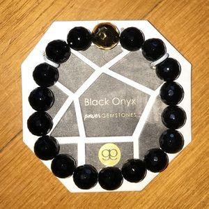 NWT Gorjana Black Onyx Power Gemstones